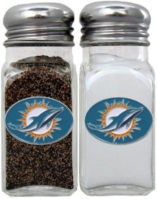 Siskiyou Gifts Co, Inc. Nfl Miami Dolphins Salt & Pepper Shakers