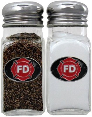 Siskiyou Gifts Firefighter Salt And Pepper Shakers