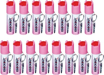 Knockout Punch With Key Ring Pepper Stream Spray