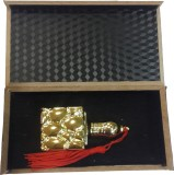 Rcube Perfume Bottle Gold