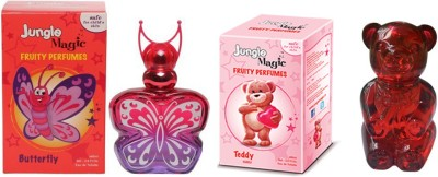 Jungle Magic Butterfly Red Cuddly Teddy Eau de Toilette  -  120 ml