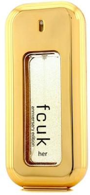 French Connection UK Fcuk Her Eau De Toilette Spray (Anniversary Edition) Eau de Toilette  -  100 ml
