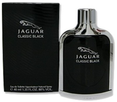 Jaguar Classic Black EDT  -  40 ml(For Men)