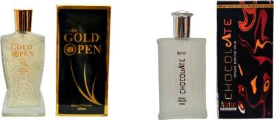 Aone Gold Open and Chocolate Combo Eau de Parfum  -  200 ml
