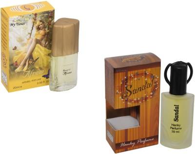 My Tunes Combo Pack Sandal 30 Ml & Afreen- 20 ml Eau de Parfum  -  50 ml