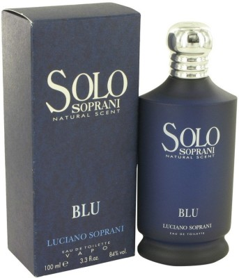 Luciano Soprani Solo Blu EDT Eau de Toilette  -  100 ml