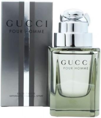 GUCCI Pour Homme Eau de Toilette - 90 ml(For Men)
