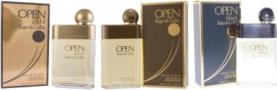 Roger And Gallet Open, Open gold and Open Black Eau de Toilette  -  300 ml