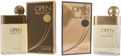 Roger And Gallet Open and Open Gold Eau de Toilette  -  200 ml