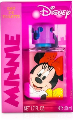 Air Val International Disney Minnie Mouse Eau De Toilette Spray (3D Rubber Edition) Eau de Toilette  -  50 ml