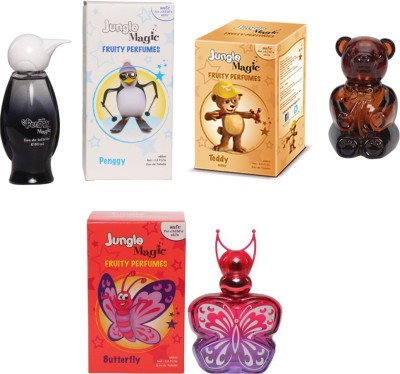 Jungle Magic Penggy White Naughty Bear Butterfly Orange Eau de Toilette  -  180 ml