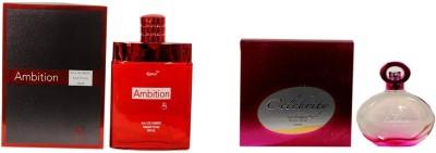 Ramco Ambition and Celebrity Combo Eau de Parfum  -  200 ml