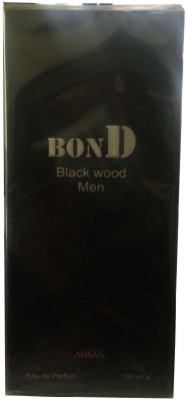 Ahsan Bond Black Wood Men Eau de Toilette  -  100 ml