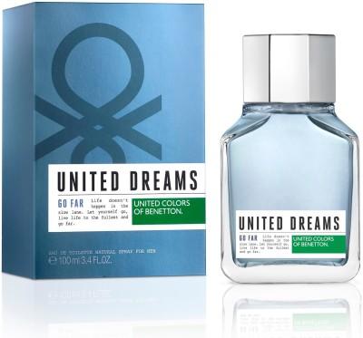 benetton United Dreams Go Far Eau de Toilette  -  100 ml