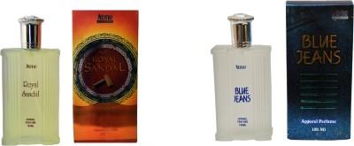 Aone Royal Sandal and Blue Jeans Combo Eau de Parfum  -  200 ml