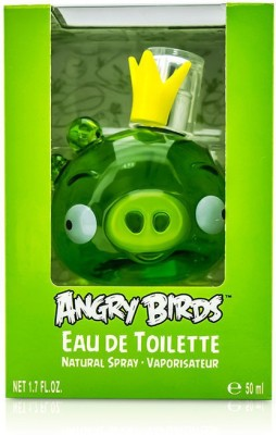 Air Val International Disney Angry Birds King Pig (Green) Eau De Toilette Spray Eau de Toilette  -  50 ml