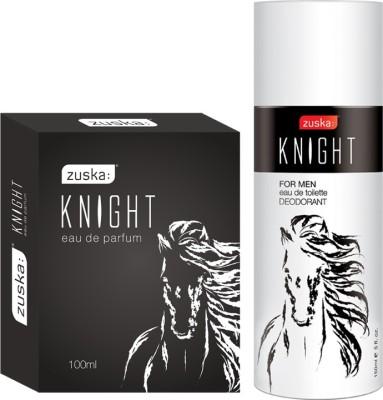 Zuska Knight Pack (Knight Perfume+ Knghit Deo) Eau de Parfum  -  250 ml