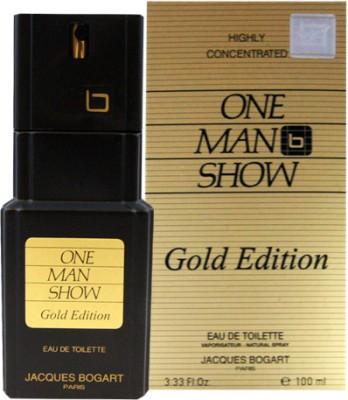 Jacques Bogart One Men Show Gold Edition EDT  -  100 ml
