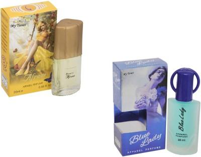 My Tunes Combo Pack Blue lady 30 Ml & Afreen- 20 ml Eau de Parfum  -  50 ml