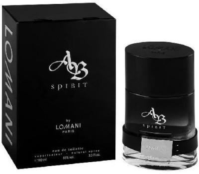 Lomani AB Spirit black EDT  -  100 ml