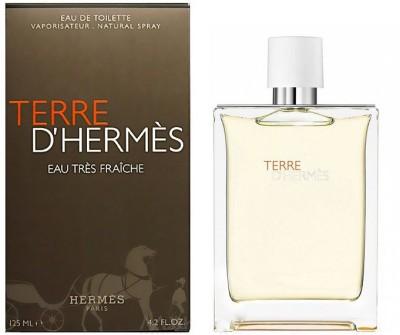 Hermes Terre D,Herme's Eau Tres Fraiche Perfume Eau de Toilette  -  125 ml