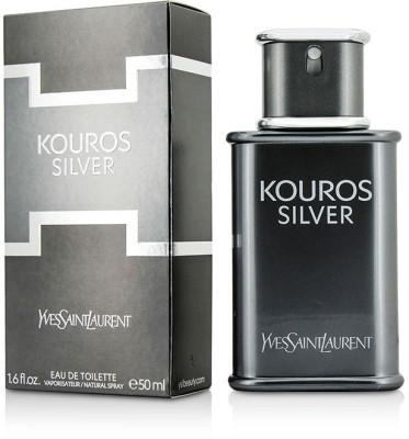 Yves Saint Laurent Kouros Silver Eau De Toilette Spray Eau de Toilette  -  50 ml