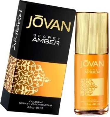Jovan Secret Amber EDT  -  90 ml(For Men, Women)