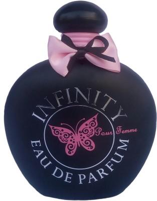 Infinity Black Eau de Parfum  -  100 ml(For Girls, Women, Baby Girls)