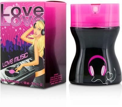 Parfums Love Love Love Music Eau De Toilette Spray Eau de Toilette  -  60 ml