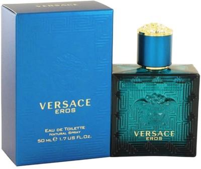 Versace Eros Eau de Toilette - 50 ml(For Men, Boys)
