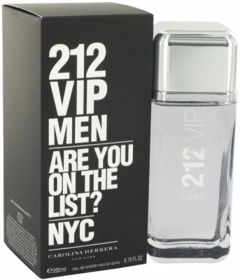 Carolina Herrera 212 Vip Men Perfume Eau de Toilette  -  200 ml
