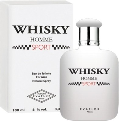 Evaflor Whisky Homme Sport EDT  -  100 ml(For Men)