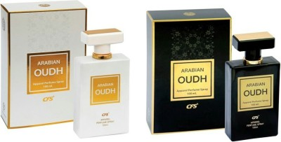 CFS ARABIAN OUDH WHITE 100 ML & ARABIAN OUDH BLACK COMBO(PACK OF 2) 100 ML Eau de Parfum  -  100 ml