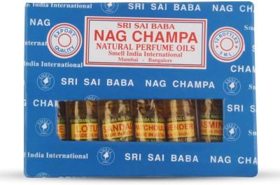 Smell India International Nag Champa Natural Perfume Oils Eau de Parfum  -  60 ml