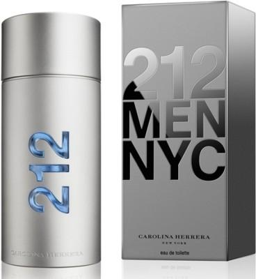Carolina Herrera 212 men nyc Eau de Toilette  -  200 ml