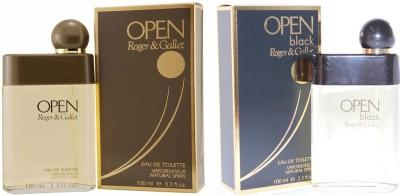 Roger And Gallet Open and Open black Eau de Toilette  -  200 ml