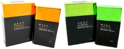 waga Speed Orange Motion Black Eau de Parfum  -  100 ml