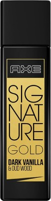 AXE Signature Gold Dark Vanilla & Oud Wood Perfume Eau de Toilette - 80 ml(For Men)