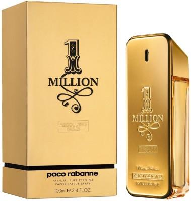 Paco Rabanne 1 Million Absolutely Gold EDP  -  100 ml(For Men)
