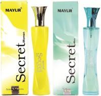 Mayur Secret Men & Women combo Eau de Parfum  -  100 ml(For Men)