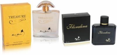 Anna Andre, Paris Floralina & Treasure Perfume Eau de Toilette  -  100 ml