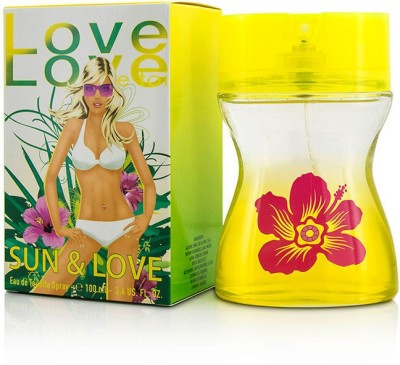 Parfums Love Love Sun & Love Eau De Toilette Spray Eau de Toilette  -  100 ml