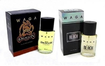 Waga Naughty Black, Golden Dragon 35 ML Each Eau de Parfum  -  30 ml