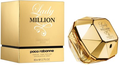 Paco Rabanne Lady Million Absolutely Gold EDP  -  80 ml