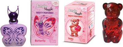 Jungle Magic Butterfly Pink Cuddly Teddy Eau de Toilette  -  120 ml