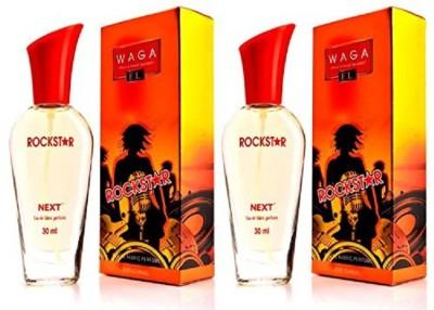 waga Rockstar Pack of 2 Eau de Parfum  -  30 ml