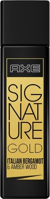 AXE Signature Gold Italian Bergamot & Amber Wood Perfume Eau de Toilette - 80 ml(For Men)