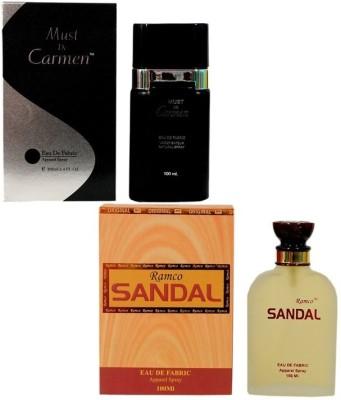 Ramco Must De Carmen Black and Sandal Combo Eau de Parfum  -  200 ml