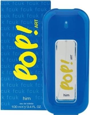 FCUK Pop Art EDT  -  100 ml