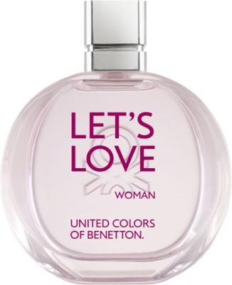 Benetton Let's Love EDT  -  100 ml